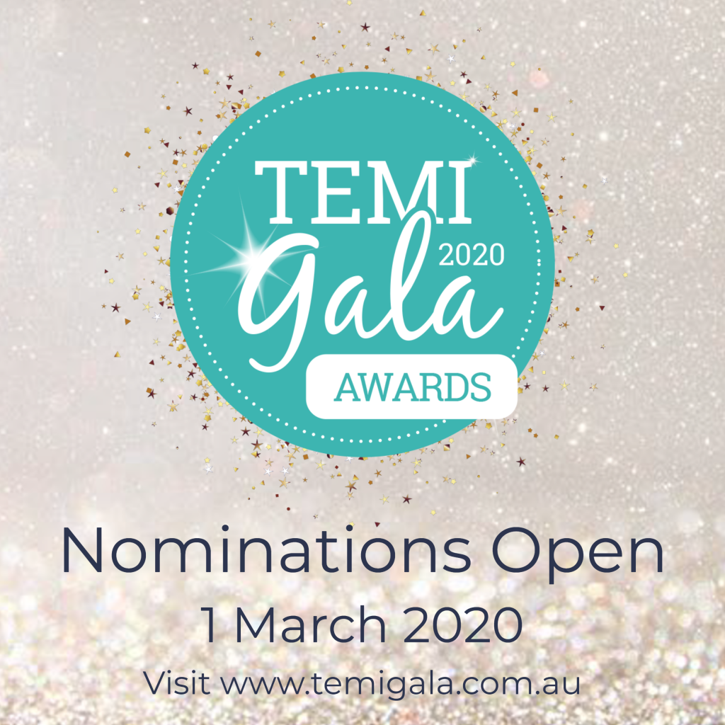 2020 TEMI Awards Nominations Open 1 March