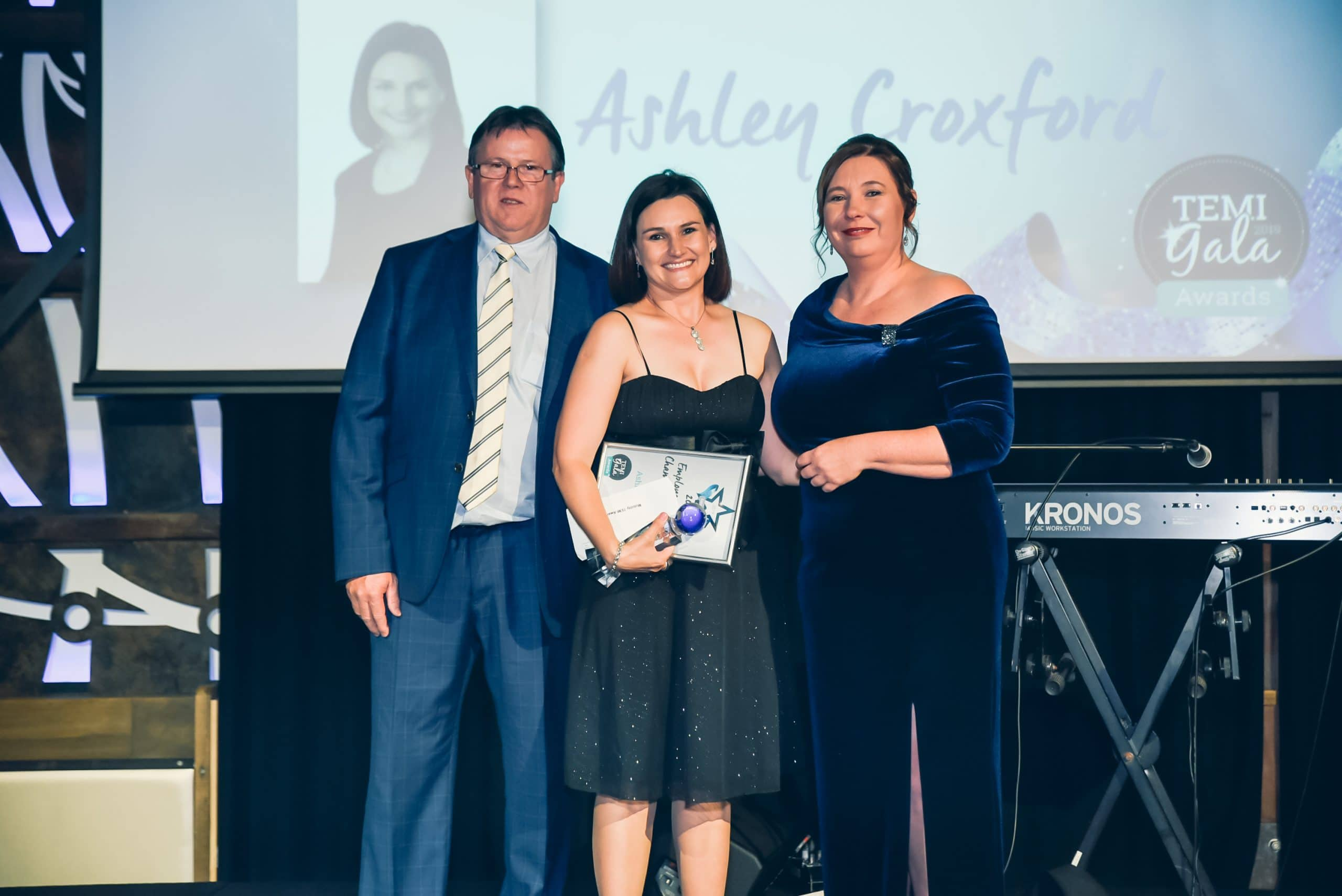 Ashley Croxford Champion of the Year 2019 TEMI Awards